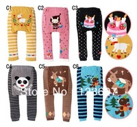 free shopping HOT Sale Children Kids PP Pants Long Trousers Cartoon Legging Cotton Baby Boys Girls Wear