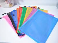 folder A4 bag waterproof document bags kit paper bags double layer scrub zipper bags briefcase