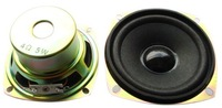 4 ohms 5W square speaker tritone foam edge 3-inch full-range speakers