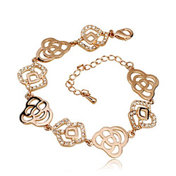 Bohemia rose bracelet fashionable casual all-match personality 400020(China (Mainland))