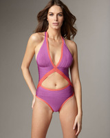 Free Shipping Region Bandage HL Swimsuit Paris Beachwear Swimwear Bikini Purple HL509