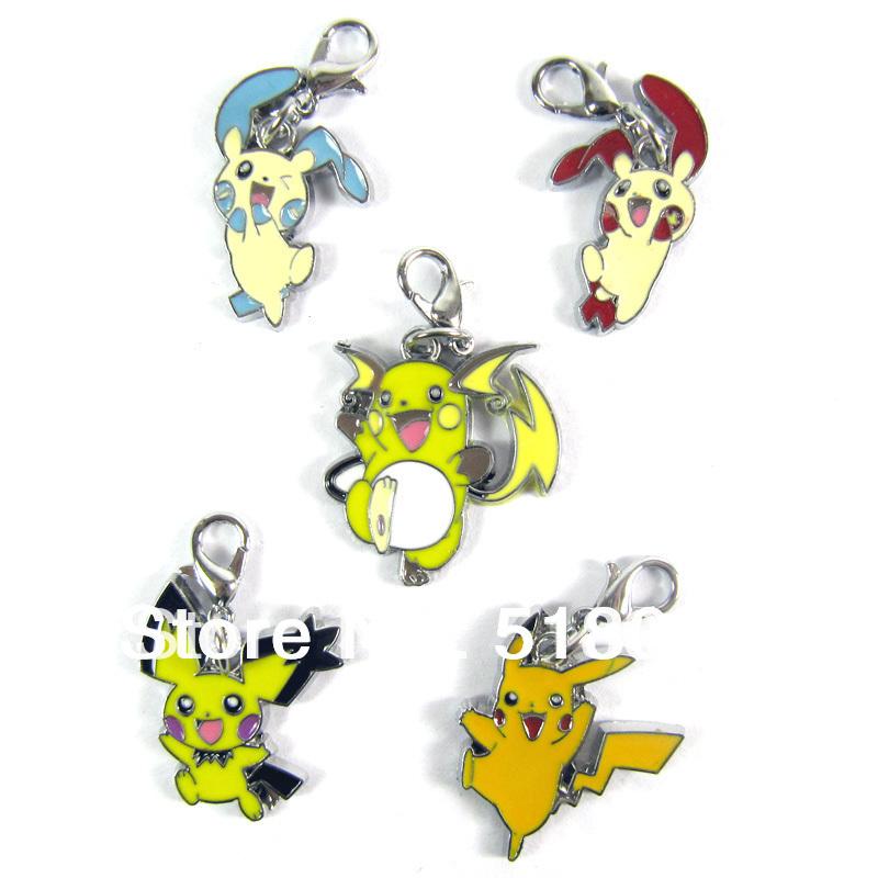 Venta al por mayor de anime japonés pokemon pikachu llavero llavero 5 ...