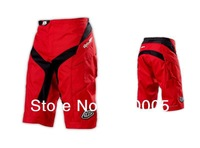 *8013*High Quality with Pad &YKK Zipper! 2013 Troy lee design TLD Moto Short Bicycle Cycling MTB BMX DOWNHILL Pants Shorts Red