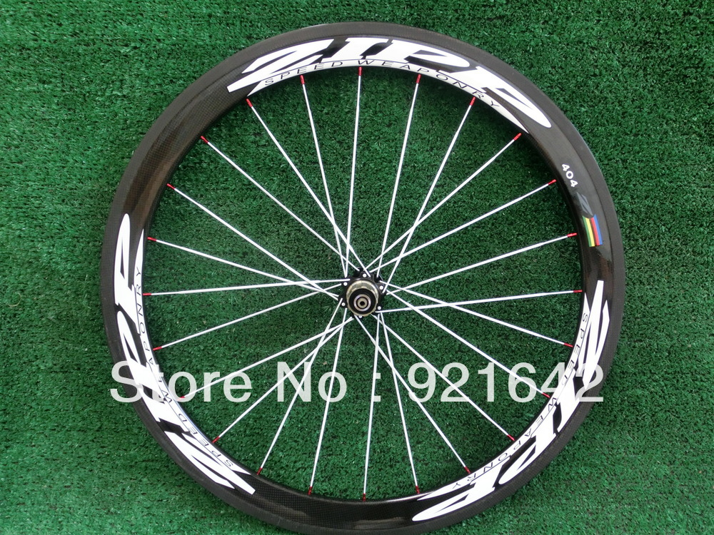 Hot Sale,NEW STORE OPENING!!! ZIPP404 carbon fibre clincher 50mm, 3k, 700c, glossy road bike Wheelset(China (Mainland))
