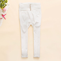 Hot sale Bxv-y336 2013 spring women's pencil breasted high waist legging pants c-12  fashion designer free shipping