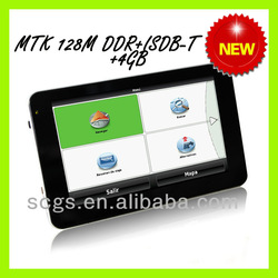 Hot sale 5 inch touch screen portable gps navigator for car(China (Mainland))
