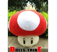 "Stuffed Dolls Plush Toys 8"" inch  Super Mario Mushrooms"