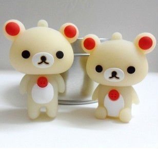 Ub382 Wholesale Cartoon Couple teddy bear 4GB 8GB 16GB 32GB USB 2.0 Flash Memory Stick Drive Thum/Car/Pen U Disk Festival(China (Mainland))