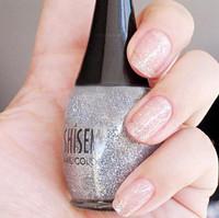 Shisem nail polish oil nude color scrub multicolour nail art tool romantic silver glitter 100