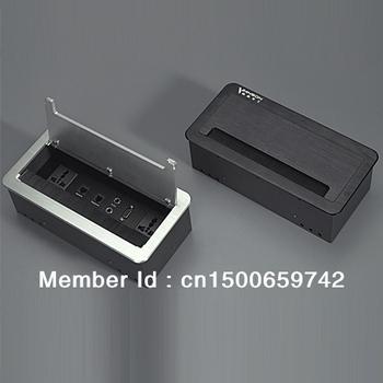 Desktop socket desktop information box Hotel socket HDMI HD interface socket panel can be customized.
