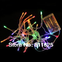 Multicolour Battery  power Operated 30 LED Mini Fairy String Lights 3M 30 LED Battery  String Fairy Light  For Christmas Wedding