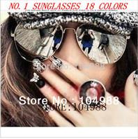 2013 Classic 3025 Reflective Sunglasses Fashion Mirrored Sunglasses for Women Sunglasses for Men Vintage Sunglasses Free Ship