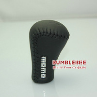 MOMO Black,Leather,Universal gear shift knob,-K032