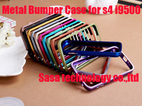 Aluminium Metal Bumper Case For Samsung Galaxy S4 i9500  high quality Free shipping 10pcs/lot