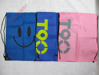 420d double-shoulder drawstring bags reentrant bags tote nylon shopping bag basketball football storage bag