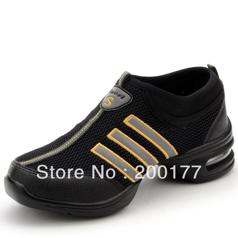 2012 New arrival, Free shipping, New design, Fashion dancing shoes, Jazz sneakers, Leasher and canvas shoes, Wholesale & Retail(China (Mainland))