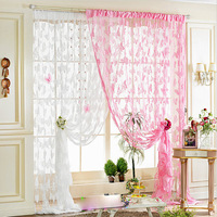 Free Shipping 300cmX300cm Jacquard Butterfly String Curtain Fringe Curtain Room Divider Wedding Drapery CT-01L Wholesale &Retail