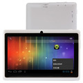 7 inch AllWinner A13 Android 4.0 512M 4GB Dual Cameras Capacitive Touch Screen Webcam Tablet PC White 88010964
