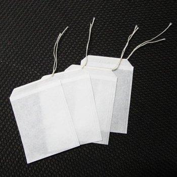 100pcs/lot Empty Teabags String Heat Seal Filter Paper Herb Loose Tea Bags Teabag wholesale  06091