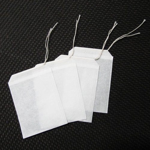 100pcs/lot Empty Teabags String Heat Seal Filter Paper Herb Loose Tea Bags Teabag wholesale 06091(China (Mainland))