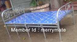 four layers ten legs metal folding bed (SM-003)(China (Mainland))