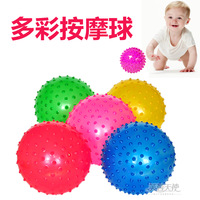 Baby gym massage ball small rubber ball bumpmaps inflatable ball touch infant sports toy
