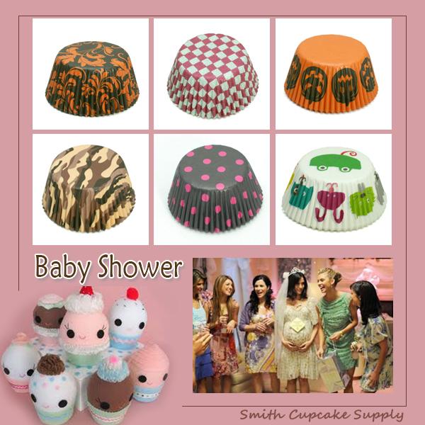 random 400 pcs 16 styles baby shower supplies baking cases cupcake