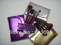 Free shopping New 5 Pieces Makeup Brush 3 Color(6pcs/lot)