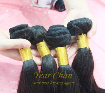 Queen hair virgin brazilian hair straight,human hair weft,3pcs/lot,3.5oz/piece Natural black color