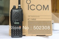 walkie talkie ICOM V82 VHF 136-174MHZ Wireless Voice Transceiver with multi function, CTCSS,DCS good