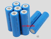 new 10 piece Rechargeable 18650 LED Flashlight Batteries Li-ion 5000mah high Quality