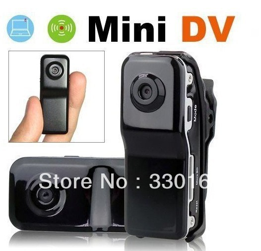 FREE SHIPPING DVR Sports Video Camera MD80 Hot Selling Mini DVR Camera &amp; Mini DV(China (Mainland))