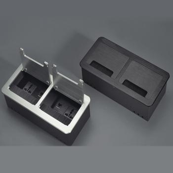 Desktop socket desktop box hotel socket definition HDMI interface brush socket panel can be customized