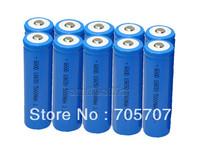 New 10pcs 18650 Rechargeable li-ion 5000Mah Flashlight Torch Battery supplies free shipping
