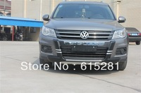 V W Tiguan 2010+ Front Rear Bumper Protector Guard Plate , ABS, Wholesale prices