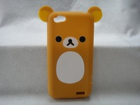 Hotsale Cute Easily bear Phone Case for HTC One V,High Quality Cell Phone Case Silicone
