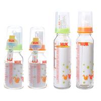 High temperature resistant glass nuk multicolour bottle nipple 125ml 230ml