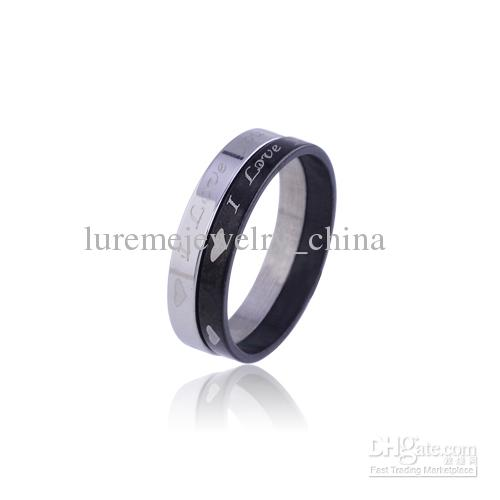 10 pcs Hematite/gunmetal/gun ring box ring loop lot ring from gold stainless stone exaggerated jewelry fashion rings ring men en(China (Mainland))