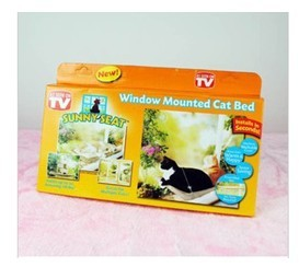 Sunm SEAT Window Mounted Cat Bed one set Free shipping(China (Mainland))