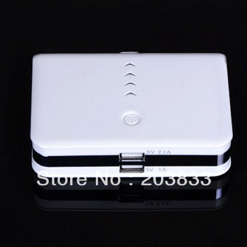2 Usb Port 20000mAh Power Bank PB 048 portable charger External Battery with 4 entertaining diversions(China (Mainland))