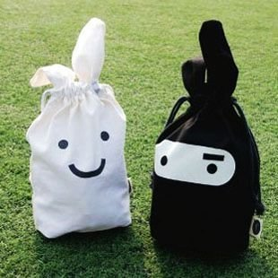 Creative home furnishing supplies / practical convenient ninja rabbit bag / cartoon Storage bag / stuff sack(China (Mainland))