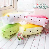 Large tofu pillow vibration electric physiotherapy massage pillow plush pillow cushion birthday gift