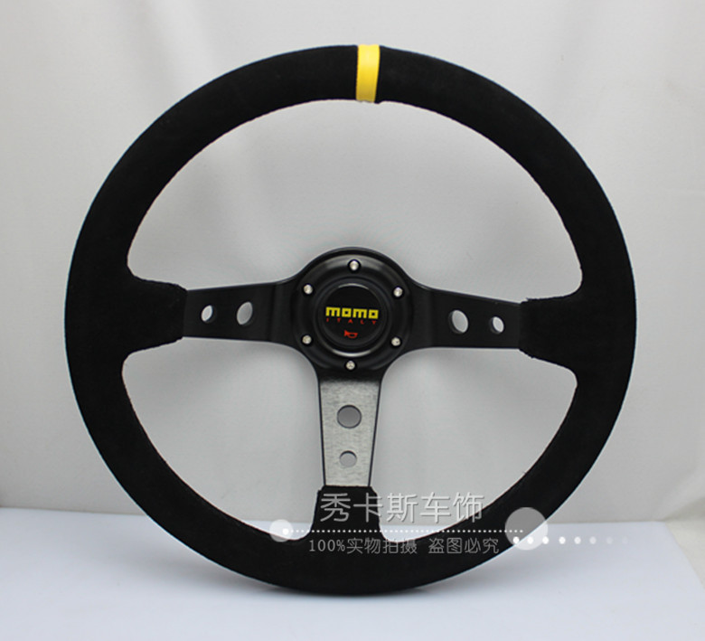 Momo steering wheel scrub steering wheel modified steering wheel(China (Mainland))