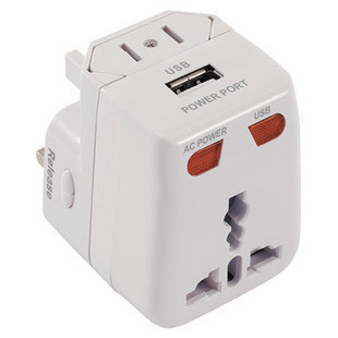 World Travel Plug Adapter modular multi-functional power converter USB charger(China (Mainland))