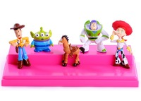 10set New 5 pcs TOY STORY 3 BUZZ LIGHTYEAR WOODY Figures SET Free shipping& Wholesale