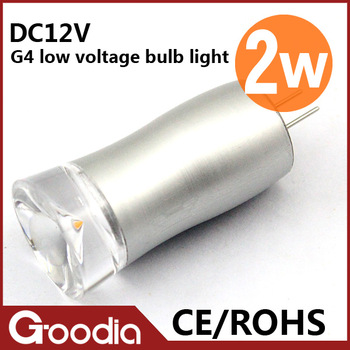 Free shipping High quality 2W G4 Led AC/DC12V Cold white/warm whtie CE&ROHS L45*W19mm 2 years warranty 10PCS/LOT 2W G4 led lamps