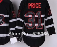 Hot sale !Cheap ice hockey jerseys Discount Men's Montreal Canadiens 31 Carey Price Black Ice Premier Jersey  free from china