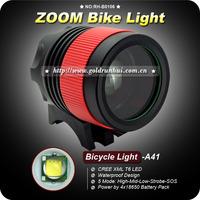 1 Set 5 Mode Cree XML T6 LED Zoom 1200Lm Adjustable Bike Bicycle Light+ 8.4V 4400mAh Battery Pack+Charger