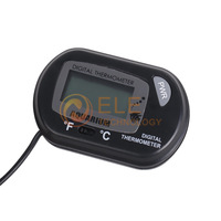 LCD Digital Thermometer For Fridge Freezer ,Fish Tank ,Waterproof Aquarium