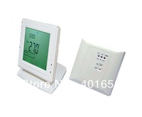 Wireless  Green LCD Screen display programmable Underfloor  Room House Heating Thermostat